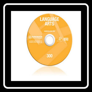 SOS Switched On Schoolhouse Language Arts Grade 5 2016 New With Install CD 5th
