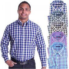Maschinenwäsche Klassische Herrenhemden im Button-Down-Kragen-Stil mit Sportmanschette-Ärmelart ohne Mehrstückpackung