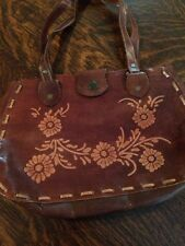 Brown Leather Purse Handbag