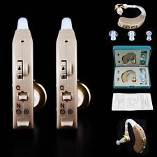 2x prothèse auditive trousse #B numérique Derrière l'oreille son Voix Amplifier