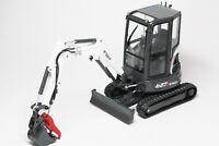 1/25 BOBCAT EQUIPMENT E27Z Compact Excavator DIECAST Universal Hobbies 8131