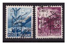 TRIESTE A - 1950   FIERA DI TRIESTE   SERIE  USATA