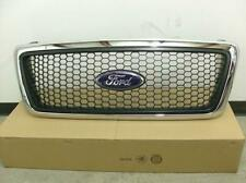 Ford F150 XLT Honeycomb Grille Grill Chrome Frame New OEM Part 6L3Z 8200 AA