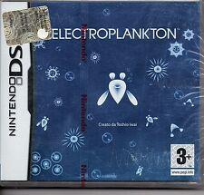 ELECTROPLANKTON  (Nintendo DS) Lite Dsi xl 2ds 3ds XL