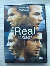 REAL MADRID THE MOVIE la pelicula Region1&4 NEW DVD zidane Ronaldo
