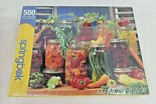 """SEALED """"Canned Veggies"""" Springbok Puzzle - 500 Pieces - 18"""" x 23.5"""" - 2005"""
