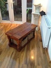 Unbranded Pine Rectangle Country Coffee Tables