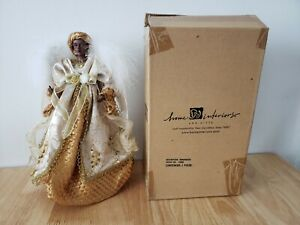 Home Interiors and Gifts Ornament Figurine Black Angel