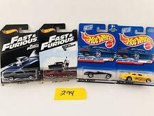 Lot of 4 Hotwheels Dodge Daytona,70 Chevelle SS,Shoebox,Austin healey #294