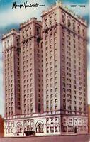 Manger Vanderbilt Hotel New York City NY East 34th St. Park Ave Postcard