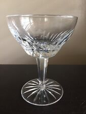 Fine Vintage Antique Cut Crystal Wine Liquor Champagne Glass Stemware NR