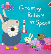 PEPPA PIG GRAMPY RABBIT IN  SPACE New TV paperback Baby Collectable Astley Baker