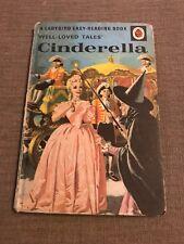 Vintage Ladybird 'Well Loved Tales CINDERELLA Matt BOOK 606D.