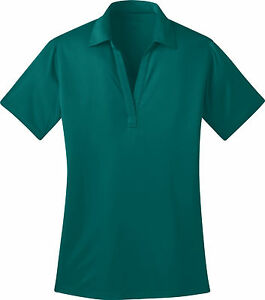 Port Authority Ladies Silk Touch Dri-Fit Polo Shirts NEW XS-4XL L540