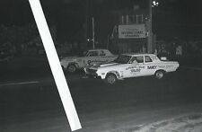 1960s Drag Racing-1964 Plymouths-Quarterbender vs BOURGEOIS & WADE at Fontana!