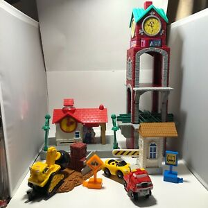 GeoTrax Clock Tower, Train Station, Demolition, Check Point and Towing Lot B425