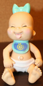 """🍼 RARE Mel BIRNKRANT'S (GALOOB Baby Face DOLLS) BABBLING BABIES """"HUNGRY"""" WORKS!"""