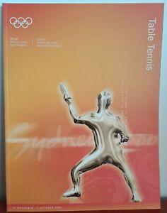 NEW Sydney 2000 Olympics Games 'Table Tennis' Sport Program Publication book