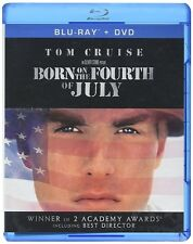BORN ON THE FOURTH OF JULY New Sealed Blu-ray + DVD Tom Cruise