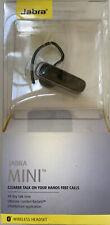 Jabra Mini Bluetooth Wireless Ear-Hook A2DP Headset Stream Multimedia Glossy BLK