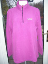 Fleece Funnel Neck Regular Size Hoodies & Sweats for Women
