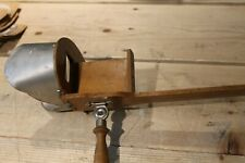 1898 VINTAGE WOODEN STEREOSCOPE PHOTO VIEWER W/ 18 PICTURE CARDS