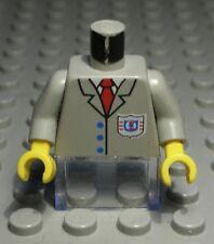 Lego Figur Zubehör Oberteil alt Grau mit Dekor                         (5085 AR)