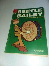 Beetle Bailey #20 Mort Walker art April-May 1959 Dell Comics silver age strip