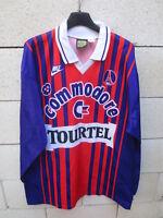 Maillot PARIS PSG vintage NIKE shirt Champion de France 94/95 manches longues