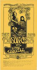 Dave Mason Mama Cass Larry Coryell Berkeley Community 1971 Feb 15 Handbill
