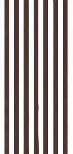 "30""x60""  Cabana Stripes Black Beach Towel"