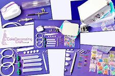 Cake Deco Pen - Dual action Sugar Craft Machine - Air Brush + Deco Pen Kit