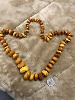 100 Grams antique natural baltic amber necklace Absolutely Amamzing