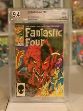 Fantastic Four #277! PGX (Not CGC SS) 9.4! Signed by Byrne! SEE PICS AND SCANS!