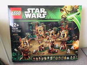 Lego Star Wars 10236 Ewok Village Brand New Factory Sealed