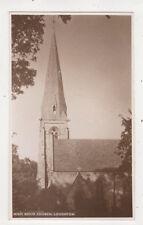 High Beech Church Loughton Essex Vintage Rppc Postcard Us051