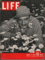 Life August 17 1942 Ace Guerrilla Vintage WWII Ads 081919AME