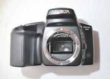 Minolta Maxxum 5XI 35mm SLR Film Camera Body With Cover.