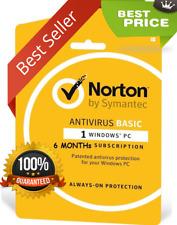 Norton Anti Virus 2018  Premium Anti-Virus for 1 PC 3 months [ Global Key Code ]