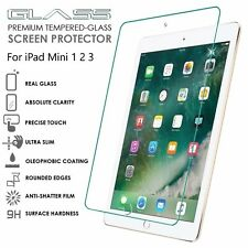 100% Real Tempered Glass Film Screen Protector Guard For Apple iPad Mini 1/2/3