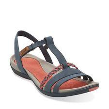 womens ladies clarks sandals tealite grace size 5d