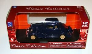 1933 Chevy Two Passenger 5 Window Coupe 1:32 Die Cast Classic Collection