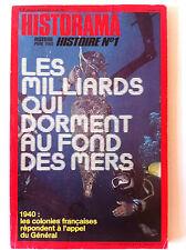 HISTORAMA n°321 du 08/1978; Les milliards qui dorment au fond des mers