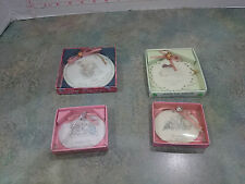 Preciuos Moments Ornaments set of 4