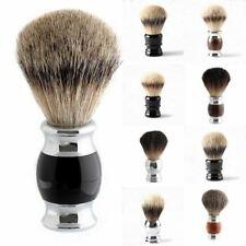 Luxury Badger Shaving Brush Hair Tool Brusher Metal Mustache Soft Handheld Wet