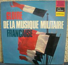 GLOIRE DE LA MUSIQUE MILITAIRE FRANCAISE PARACHUTISTES LP33T PORT A  PRIX COUTAN