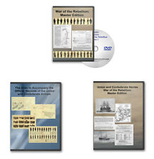 Master Edition War of the Rebellion 4 DVD Combo Set:: Army OR, Navy OR & Atlas
