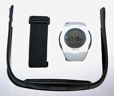 SANITAS Pulsuhr mit Brustgurt SPM 25 Herzfrequenz  Fitness Sport Uhr wasserdicht