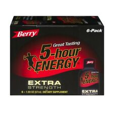 5-Hour Energy Extra Strength Berry Flavor 6-Pack (6 - 1.93 fl oz Bottles)