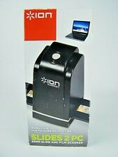 ION SLIDES 2 PC 35MM SLIDE FILM SCANNER WITH BOX NEW